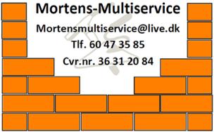 Mortensmultiservice logo