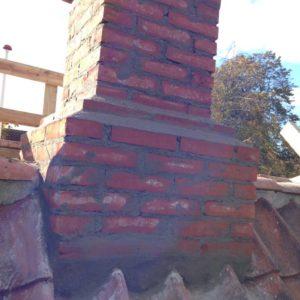 Murerarbejde i forbindelse med skorsten projektet i Nørresundby