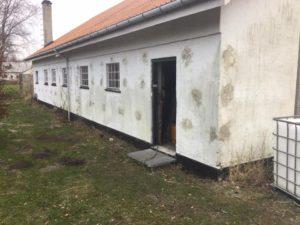 Hulmursisolering af værksted i Dokkedal - billede 4