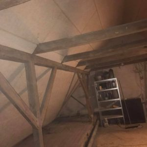 Isolering og montering af troldtekt loft - billede 4