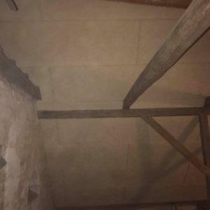 Isolering og montering af troldtekt loft - billede 6