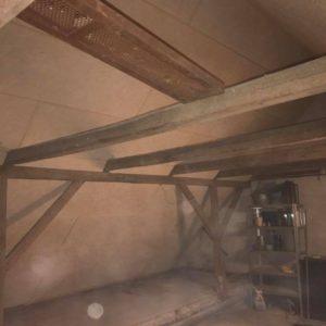 Isolering og montering af troldtekt loft - billede 7