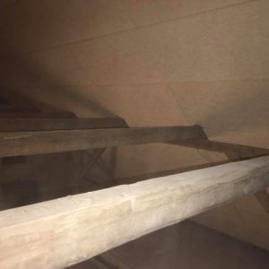 Isolering og montering af troldtekt loft - billede 8