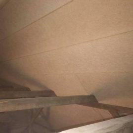Isolering og montering af troldtekt loft thumbnail